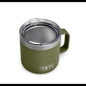 YETI Rambler  14 oz Mug . 1 pk Olive Insulated Mug